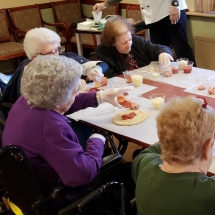 Make Your Own Pizza Party for Our Residents