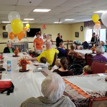 Thanksgiving Celebration with Yorktown Child Care Center