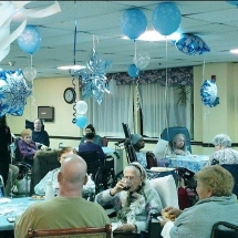 Yorktown Rehab and Nursing Center Prom Celebration 2019